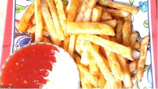 How to Make Crispy French Fries Recipe | Perfect French Fries Recipe Homemade | we can cook