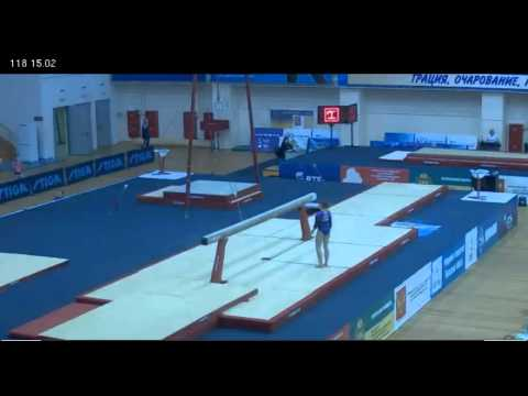 Anastasia Grishina - Beam - Russian Championships, 3/21/2012
