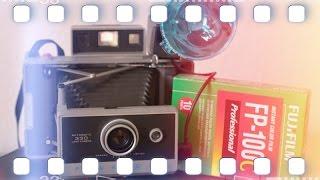 "Polaroid 330 Automatic ""Sofortbild Kult  Kamera"" - Analog Kamera Review | Flanell Kameras Film"