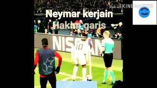 Skill neymar vs wasit