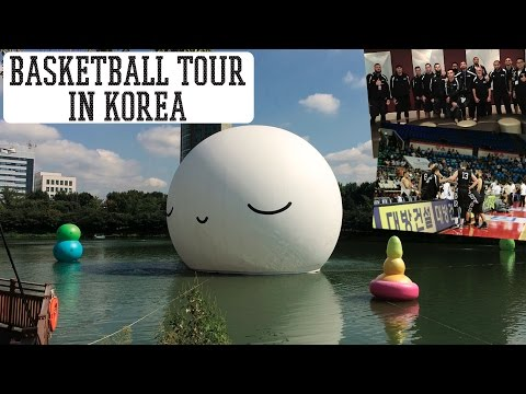 KOREA TRAVEL VLOG | Basketball Tour in Seoul South Korea! 2016