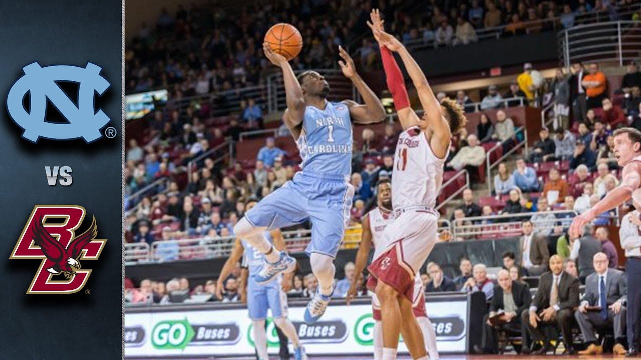 North Carolina vs. Boston College Basketball Highlights (2015-16)