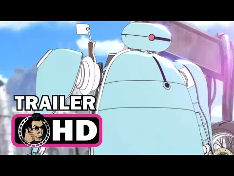 NAPPING PRINCESS Official Trailer (2017) Sci-Fi Animated Anime Movie HD