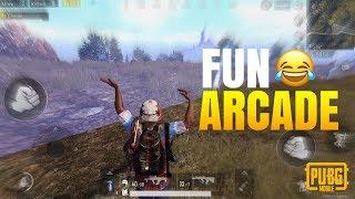 FUN IN ARCADE! ft. Yanrique | PUBG Mobile