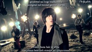 F.T. Island (에프티 아일랜드) - Hello Hello MV Turkish Sub & Romanization Lyrics