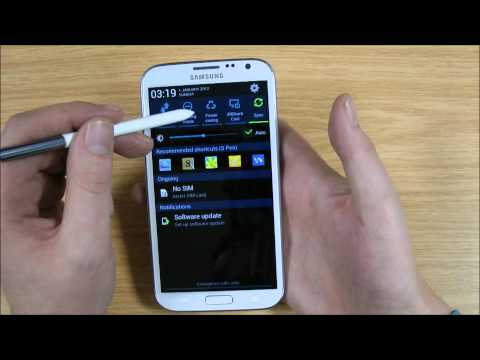 Samsung Galaxy Note 2 Battery Saving Guide / Tips Wifi. Sync. Bluetooth and 3G