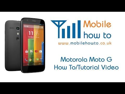How To Set change Sms message Alert Tone - Motorola Moto G video