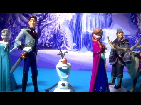 FROZEN Movie Disney Pictures Epic video of Olaf Anna