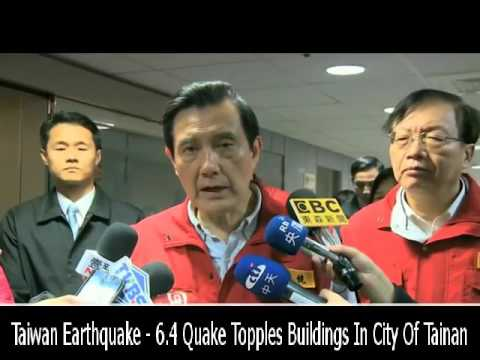 Taiwan Earthquake - 6.4 Quake Topples Buildings In City Of Tainan