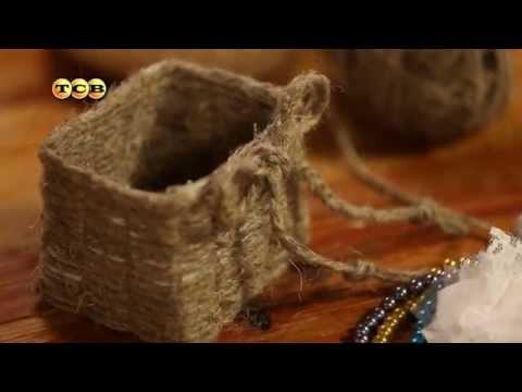 Плетение из пеньковой веревки своими руками 12