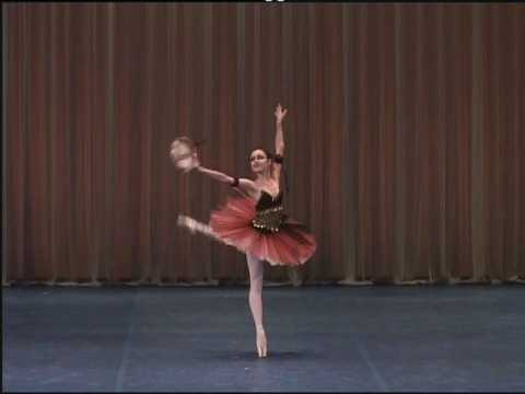 Moscow International Ballet Competition Emily Kadow- Esmeralda