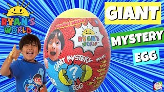 RYAN'S WORLD GIANT MYSTERY EGG From Ryan ToysReview | Bonkers Toys Co.