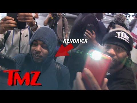 LMAO: Kendrick Lamar Checks The Paparazzi