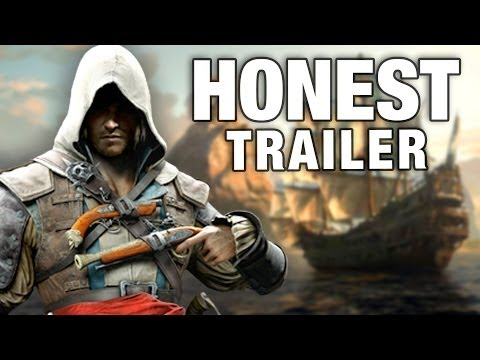 ASSASSIN'S CREED 4 (Honest Game Trailers) - Download it with VideoZong the best YouTube Downloader