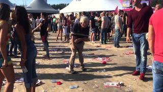 De House Opa (83) op Dance Valley 2015