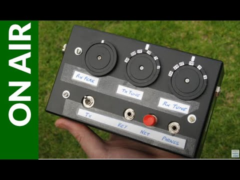 The 'Bigger Toy' 7MHz QRP Txcvr on the Sunday CW Net