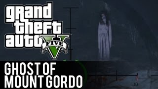 GTA 5 Ghost of Mount Gordo Easter Egg (Grand Theft Auto 5)