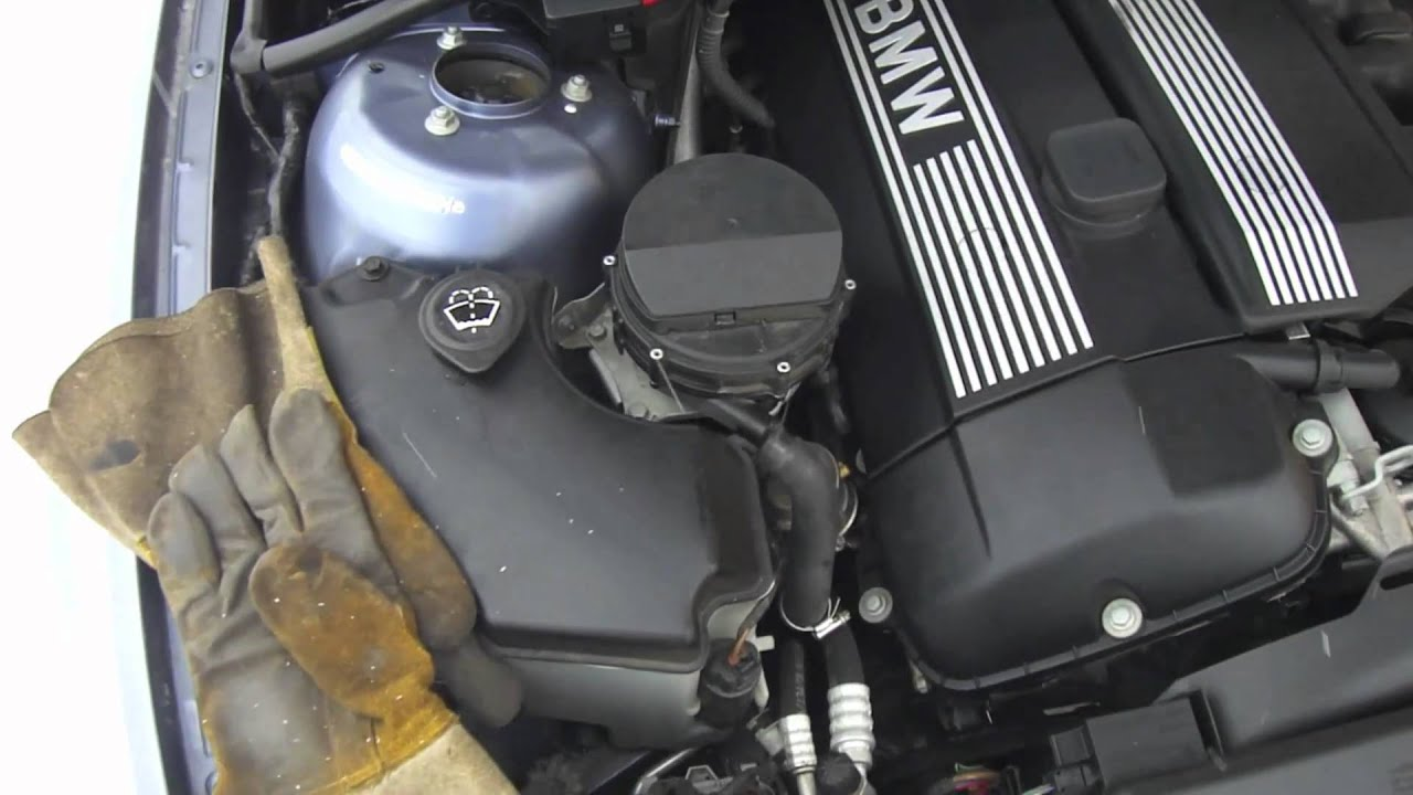 E46 Code F5 F6 Secondary Air Flow Too Low How To Check