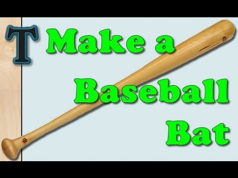 Making a Baseball Bat with the Lathe Duplicator