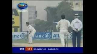 Virender Sehwag 254 vs Pakistan 2006 1st test