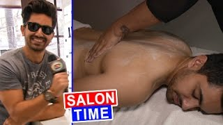 Zain Imam's HOT Body Polish Session | EXCLUSIVE INTERVIEW