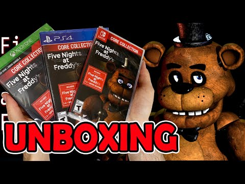 Five Nights at Freddy's Core Collection (PS4/Xbox One/Switch) Unboxing