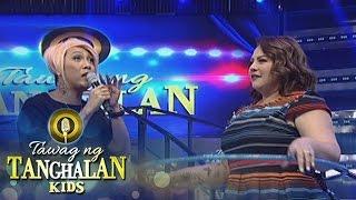 Tawag ng Tanghalan Kids: Vice challenges Carla to try hula hoop