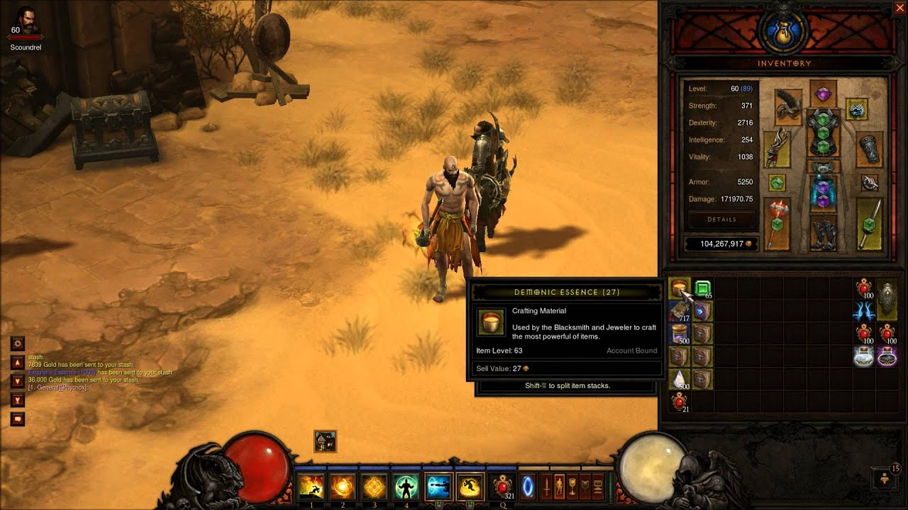 Diablo 3 farming recipes and crafting items youtube for Diablo 3 crafting items