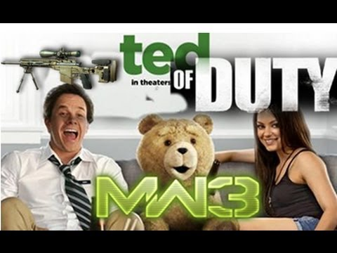Ted Of Duty: Modern Warfare 3 – Quickscoping Academy w/ Game Chat & Reactions!