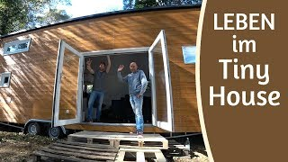 mobil & autark leben im Tiny House | Max Green Interview & Roomtour