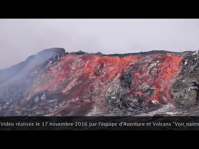 Erta Ale volcano overflows, collapses inside caldera
