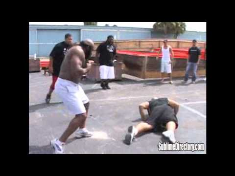 Kimbo Slice vs Afropuff & Big Mac
