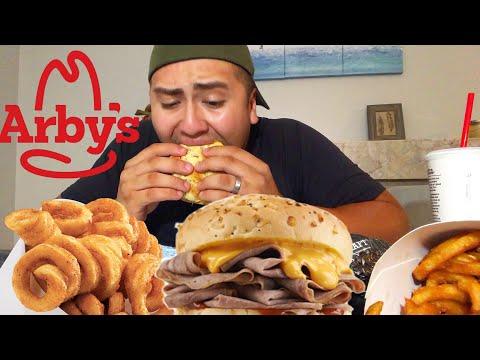 ARBYS CHEESY MUKBANG thumbnail