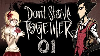 Noodle and iMdmfc play: Don't Starve Together - 01
