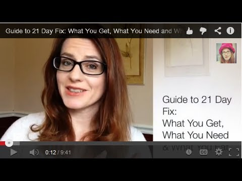 Guide to 21 Day Fix: What You Get, What You Need and What You Eat