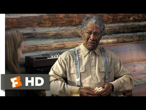 An Unfinished Life (3/12) Movie CLIP - Moths For Lunch (2005) HD
