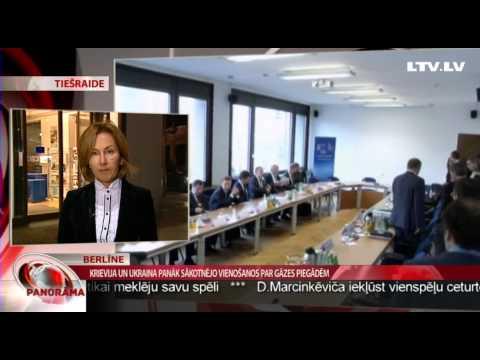 Krievija un Ukraina panāk sākotnējo vienošanos par gāzes piegādēm