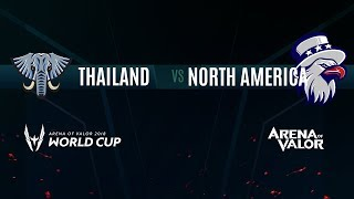 TH vs NA   Group Stage Day 1   AWC 2018