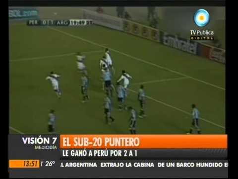 Visión Siete: Argentina puntera en el Sub 20