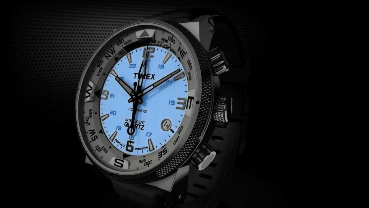Timex Intelligent Quartz Compass INDIGLO Night Light
