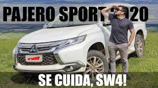 MITSUBISHI PAJERO SPORT 2020 - Faz frente com SW4? / Vrum Brasília