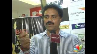 Aarohanam - James Vasanthan:Voting results for BIG Tamil Melody Awards is encouraging