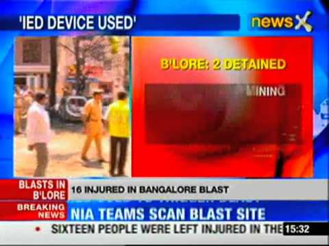 Bangalore blast: Police detain 2 suspects