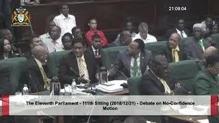 Guyana APNU+AFC government falls in no confidence vote