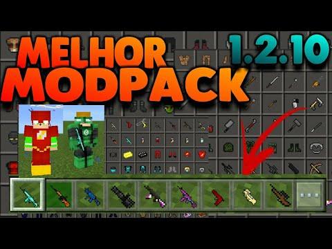Melhor Mod Pack para Minecraft PE 1.2.10/1.2.9! Pack de mods para Minecraft PE 1.2! [Mods mcpe]