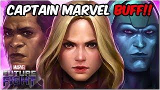 RADIENT Captain Marvel & Many Super Cool Skills! (Update 4.8 Reaction) - Marvel Future Fight