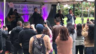 Paradise band @ Bay Area Hmong New Year 2017
