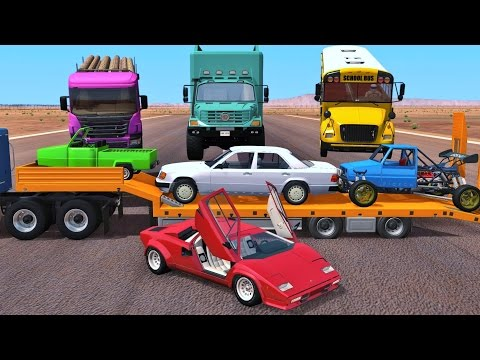 BeamNG Drive - BEST OF INSANE CRASHES 20,000 Subscriber Special