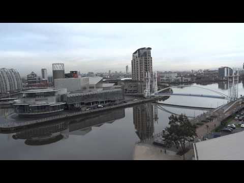 View from the Observation Tower of the Imperial War Museum North, Manchester - 04.01.13