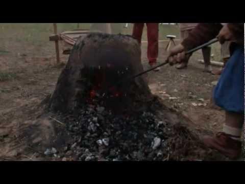 Выплавление железа ремесла